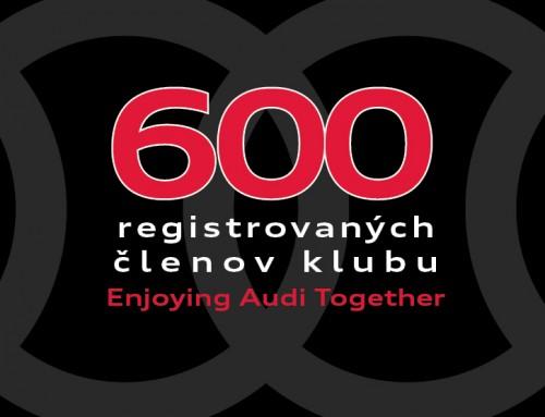 600 členov klubu fanúšikov Audi na Slovensku
