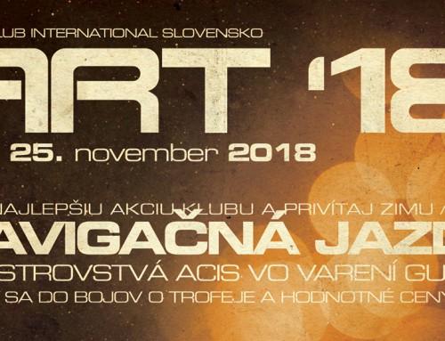 ART 23. – 25. 11. 2018