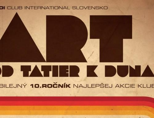 Jubilejný 10. ročník ARTu je tu