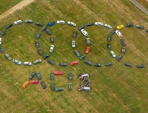 Spolu postavíme najväčšie Audi kruhy na svete