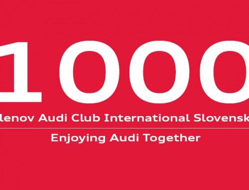 Je nás už viac ako 1000