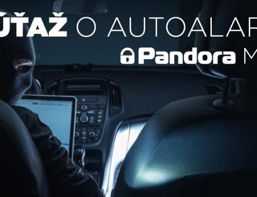 Súťaž o špičkový alarm Pandora MINI